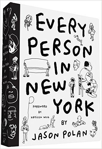 ニューヨークの人々を描くジェイソン ポランの作品が可愛い